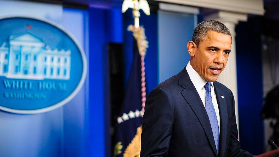 """US-Präsident Barack Obama: """"Die Stunde für ein sofortiges Handeln ist gekommen"""""""