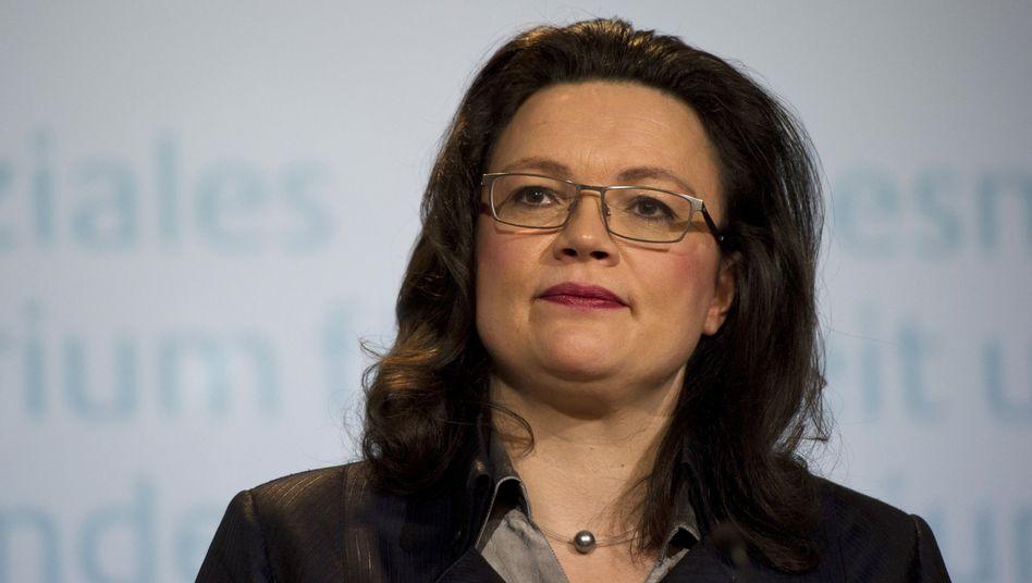 Bundesarbeitsministerin Nahles: Bärendienst für die Generationengerechtigkeit