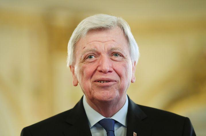 CDU-Vize Volker Bouffier.
