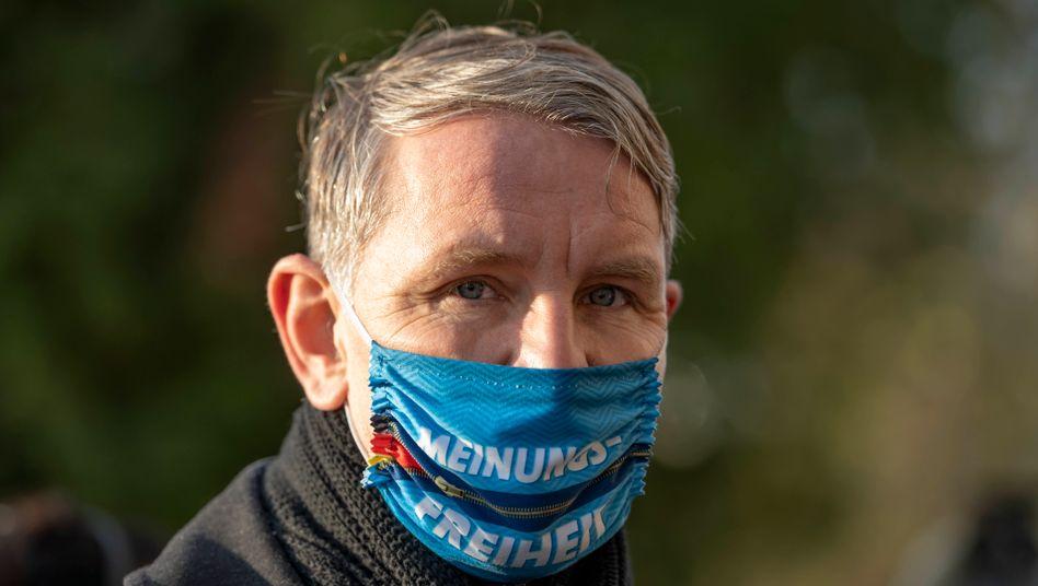 Björn Höcke beim Landesparteitag der AfD