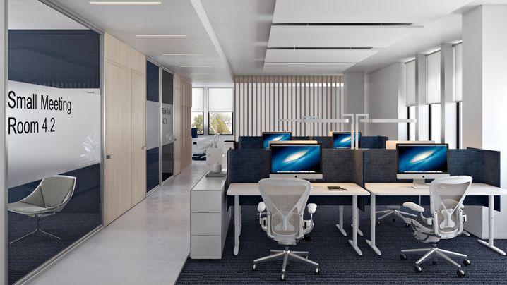 Mehr Trennwände, flexible Raumkonzepte: Mit der Coronakrise steht die offene Büroarchitektur auf dem Prüfstand