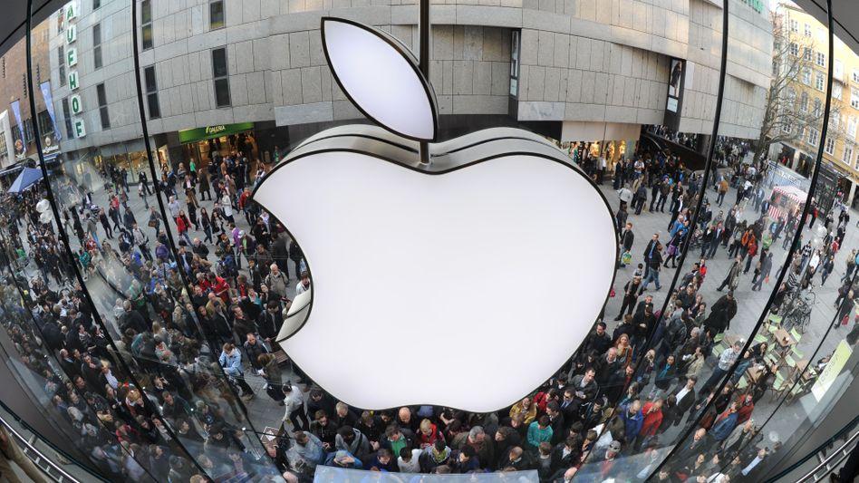 Apple-Store in München: Vorerst geschlossen