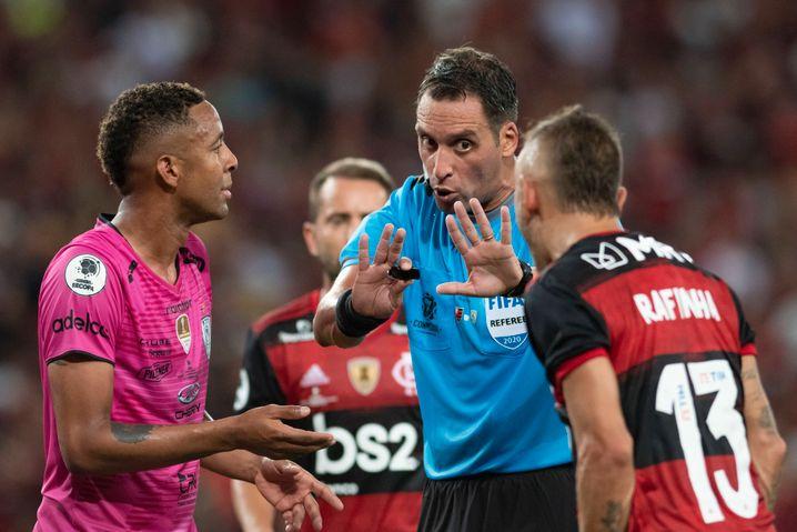 Schiedsrichter Fernando Rapallini (2020): Der Argentinier wird einige EM-Matches leiten