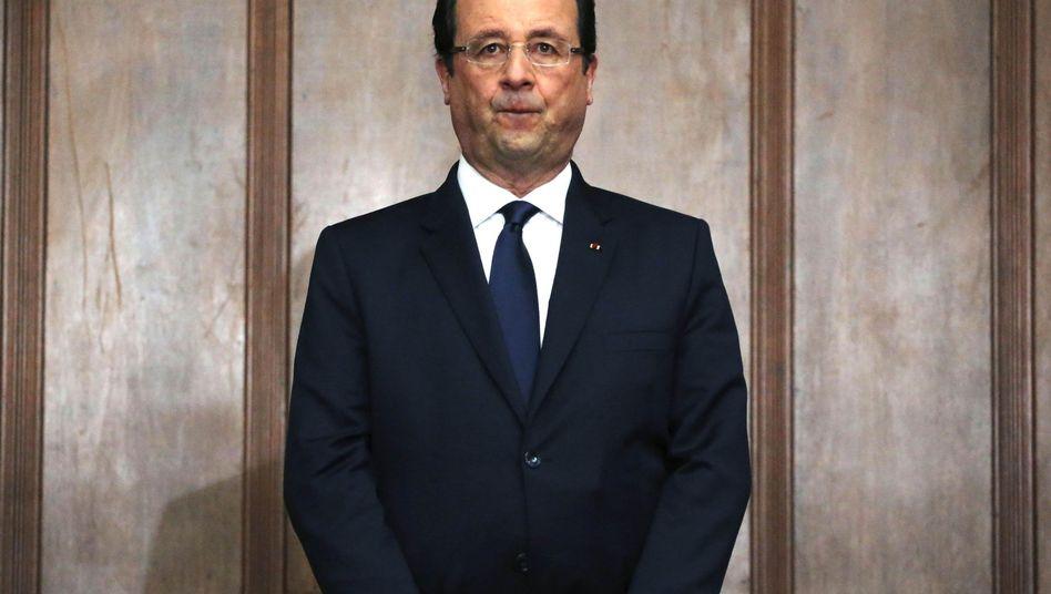 """Hollande in São Paulo: """"Ich wünsche den Spielen viel Erfolg"""""""