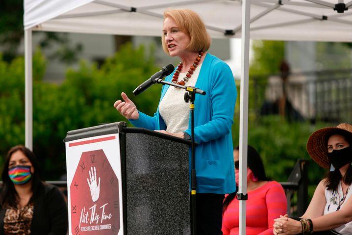 Seattles Bürgermeisterin Jenny Durkan