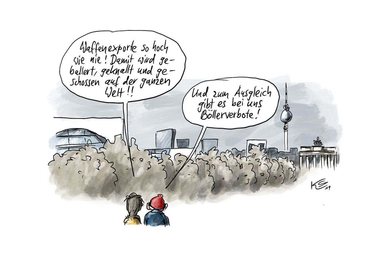 EINMALIGE VERWENDUNG Cartoons/ 30.12.19