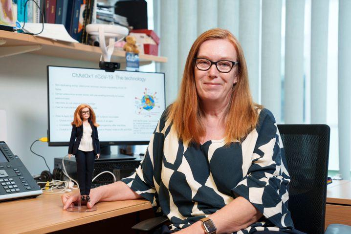 Barbie hat eine neue Puppe zu Ehren der Impfstoffentwicklerin Sarah Gilbert entwickelt