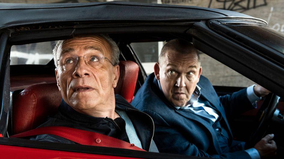 Ballauf (Klaus J. Behrendt) und Schenk (Dietmar Bär): Brutale Momente perfide sanft angetäuscht