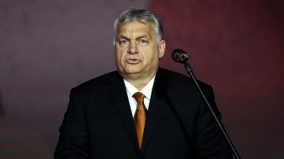 Viktor Orbán (Archivbild): Immer neue Attacken auf die Rechte von sexuellen Minderheiten