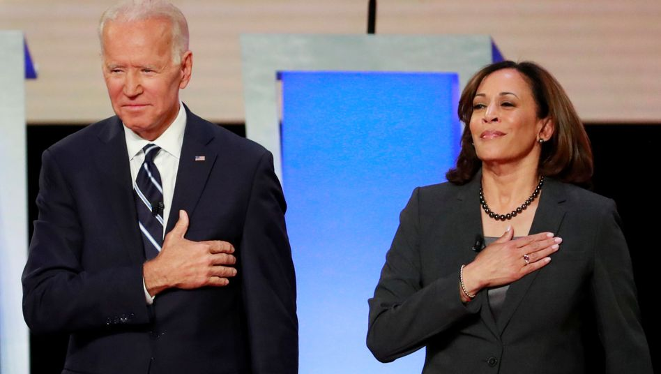 Joe Biden und Kamala Harris: Der künftige US-Präsident und seine Stellvertreterin wollen das Justizsystem auf »völlig andere Weise« angehen als Donald Trump