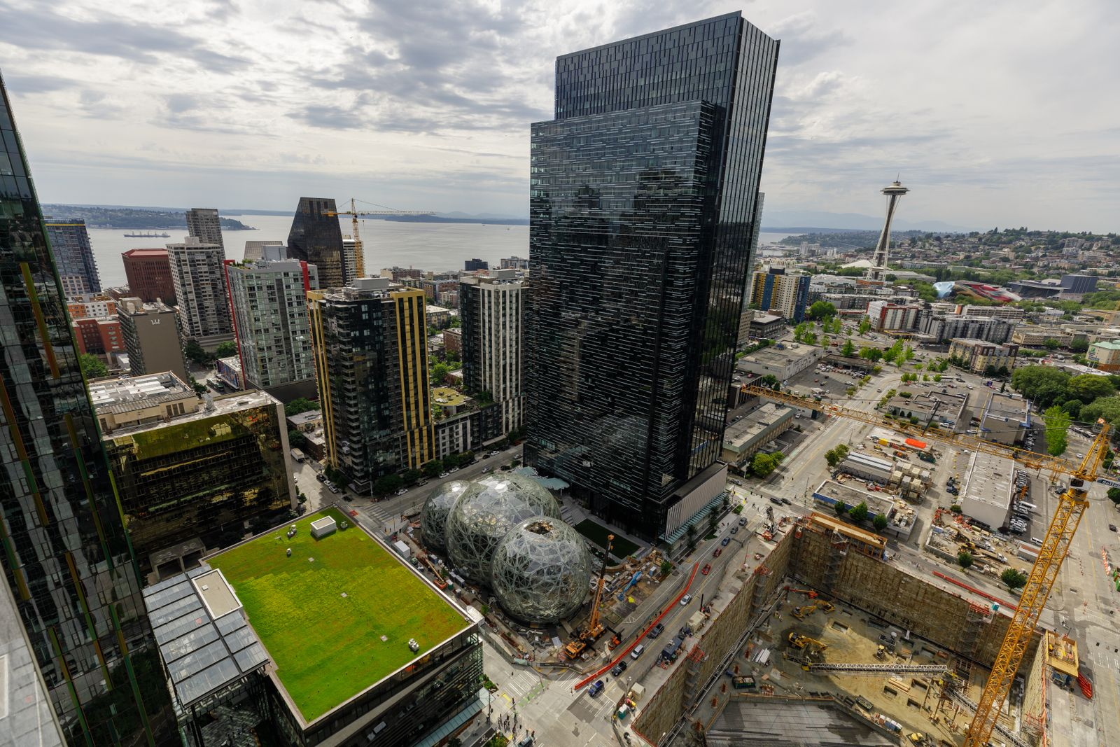 Amazons Seattle Campus 2017