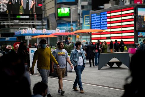 Vergangene Woche in New York, Times Square