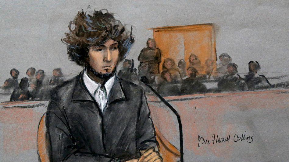 Dschochar Zarnajew im Dezember vor Gericht: Der Attentäter soll hingerichtet werden