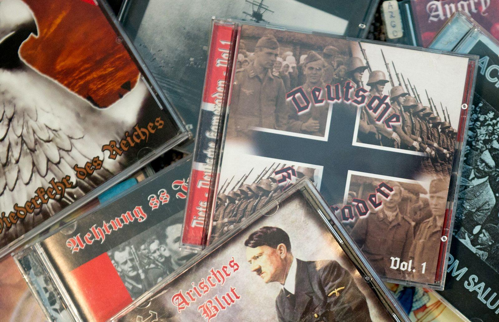 Extremistische Musik - Tonträger auf dem Index
