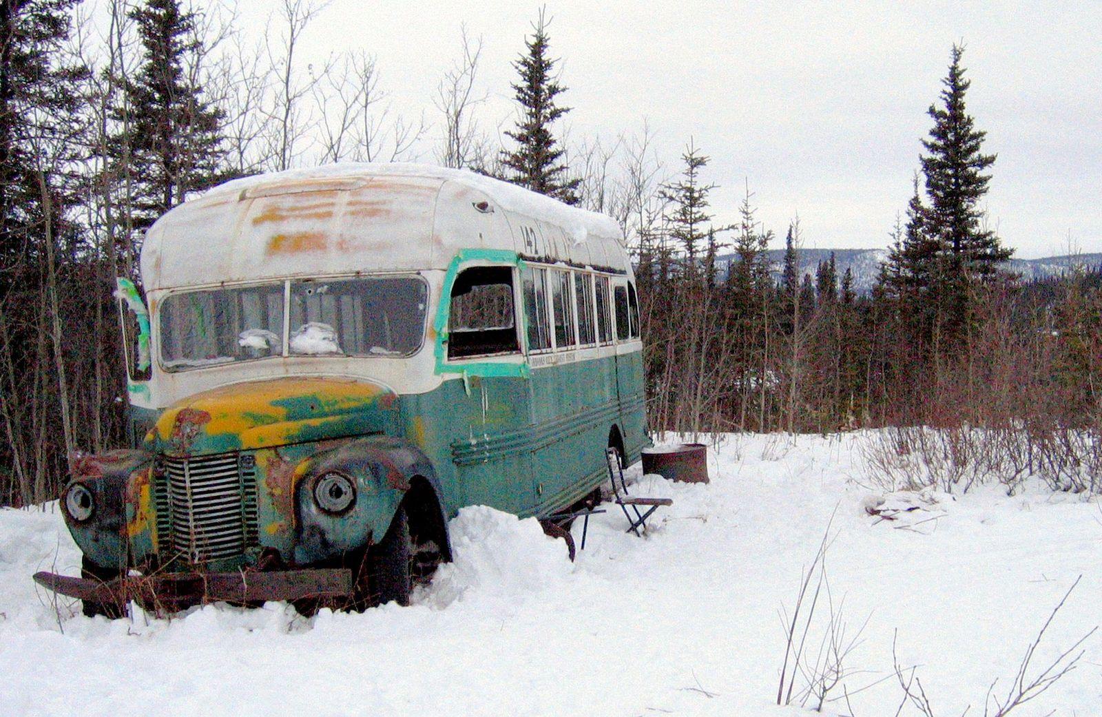 EINMALIGE VERWENDUNG Into the Wild / Bus
