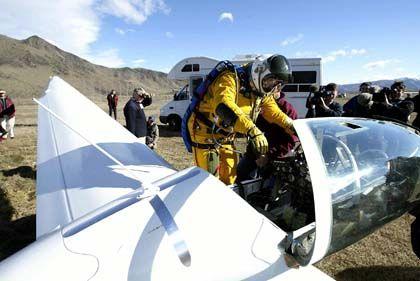Doppelte Höhe von Linienflugzeugen: Abenteurer Fossett