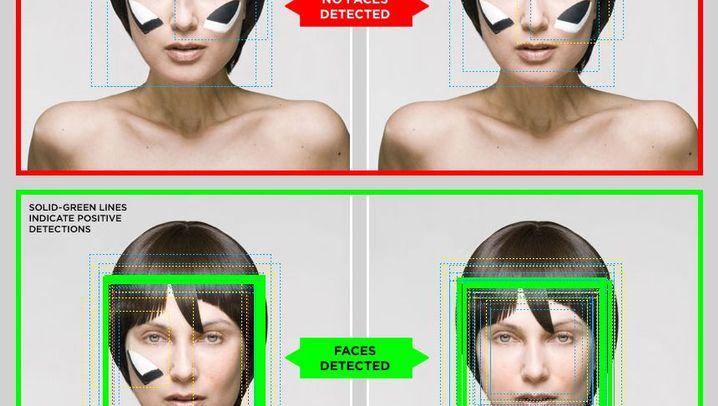 Kunstprojekt: Stylingtipps gegen die Gesichtserkennung