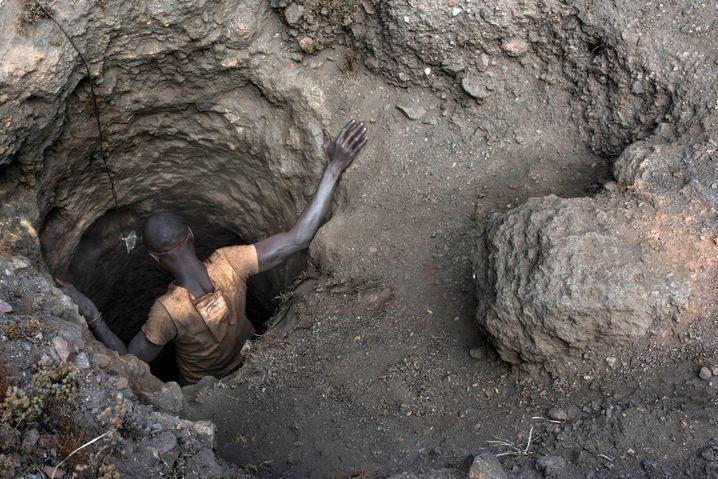 Kobaltmine in der Demokratischen Republik Kongo