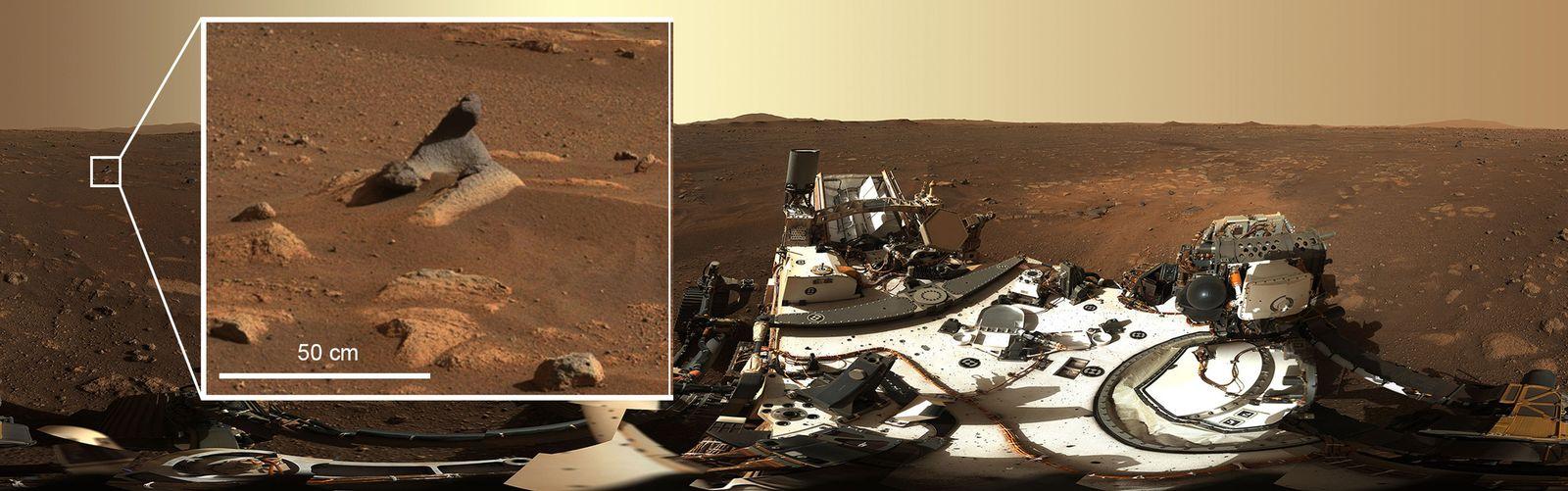 Nasa-Rover «Perseverance» auf dem Mars