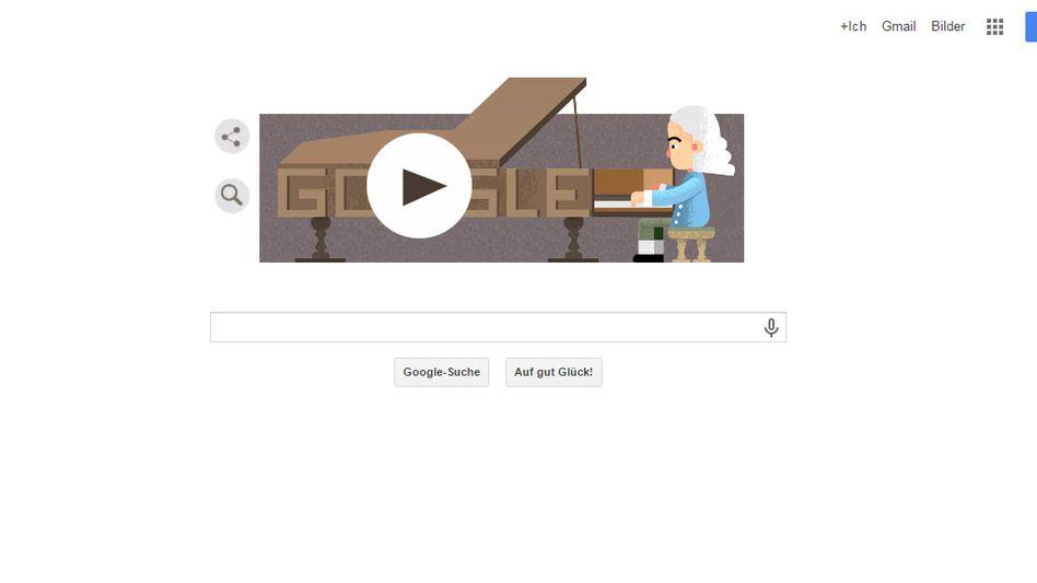 Doodle für Cristofori: Ehrung auf Google-Startseite