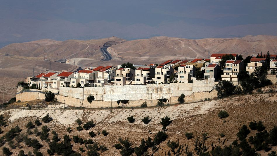Hinterm Horizont geht's weiter? Eine israelische Siedlung im Westjordanland
