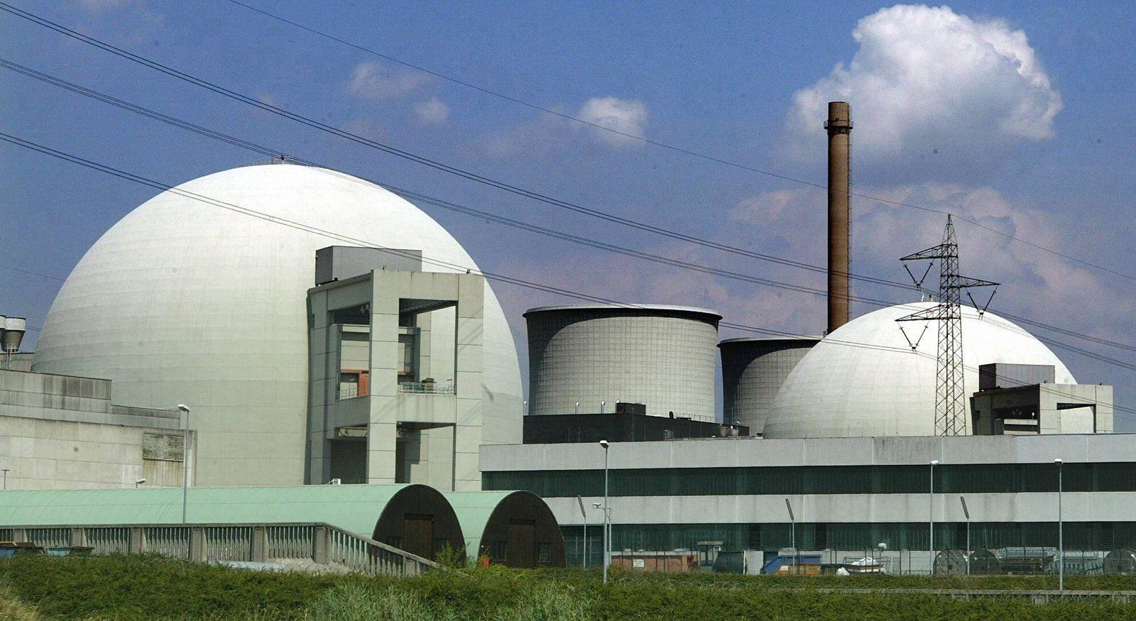 NICHT VERWENDEN Atomkraftwerk Biblis AKW