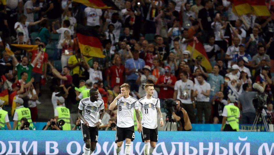 Antonio Rüdiger, Toni Kroos, Marco Reus