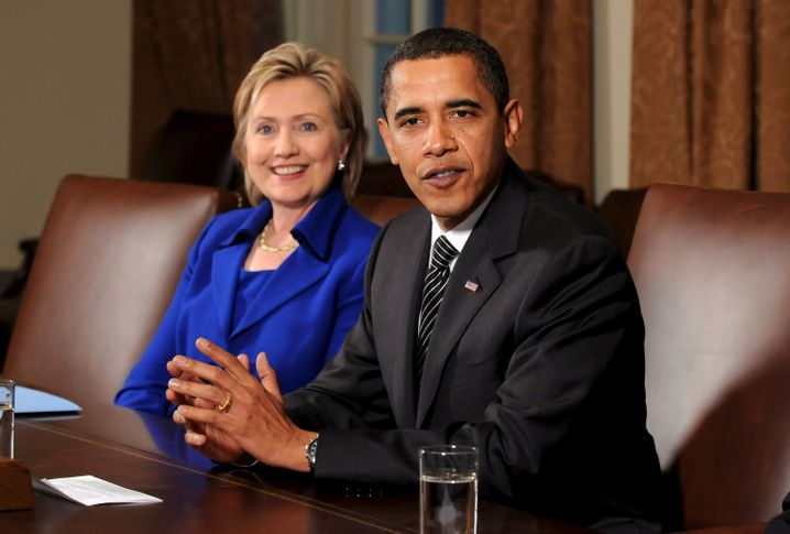 Außenministerin Hillary Clinton (Archiv): Rückzug ins Privatleben