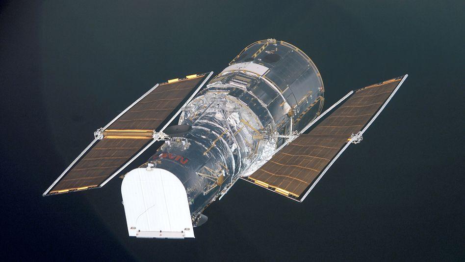 »Hubble« im All (Archivbild)