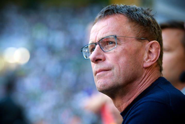 Ralf Rangnick, Leipzigs Sportdirektor und Überbrückungstrainer