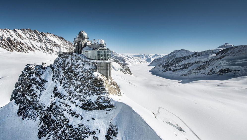 Per Lift oder Zug zur Spitze: Höhenerlebnisse für Nicht-Bergsteiger