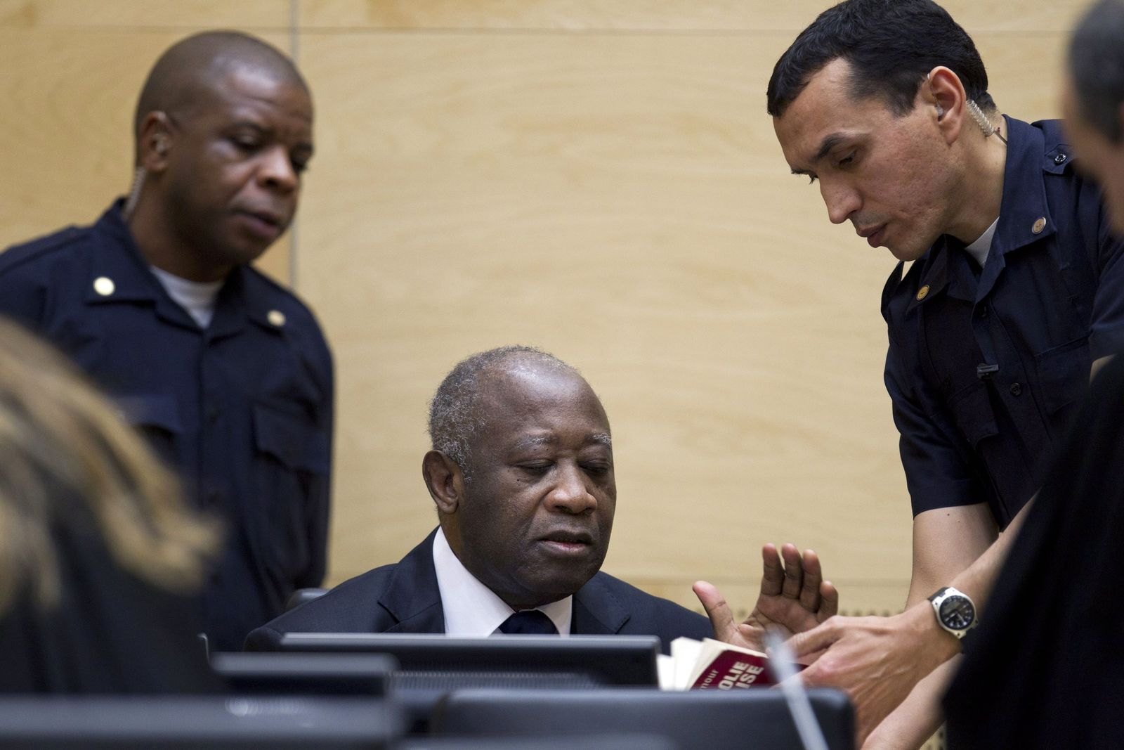gbagbo erster prozesstag