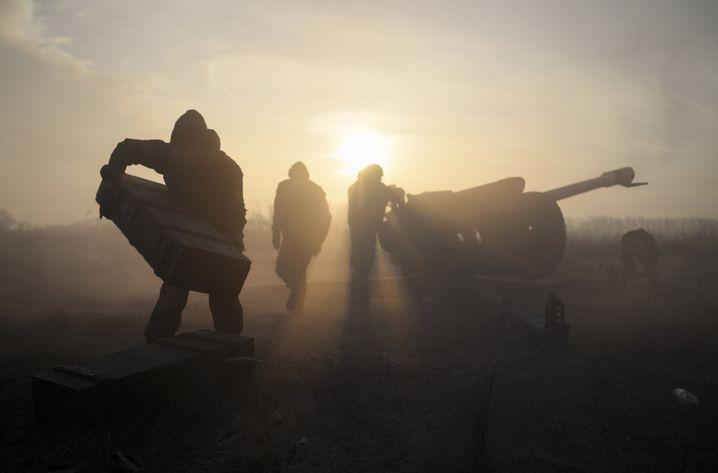 Kämpfe in der Ostukraine