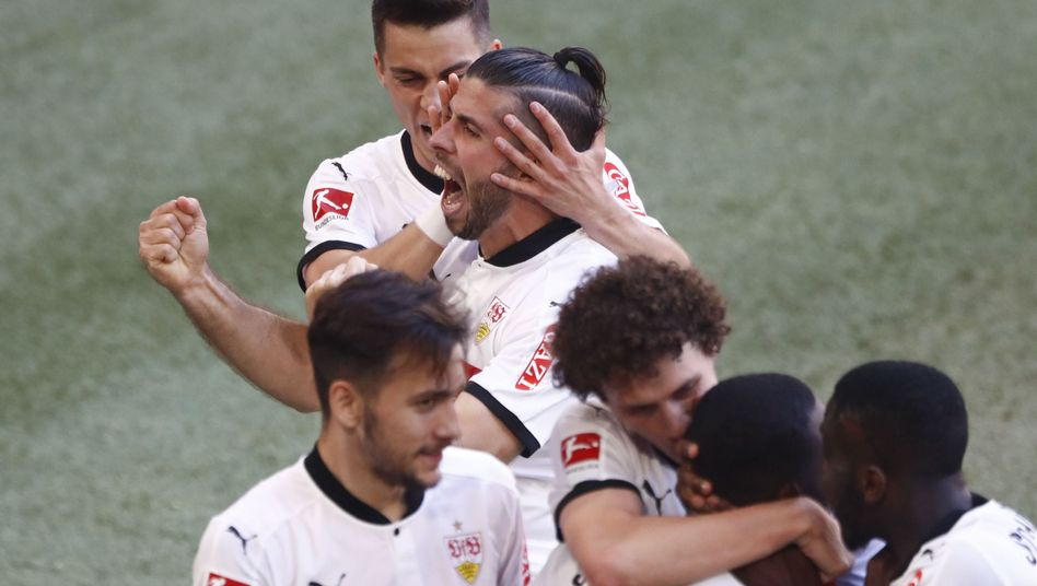 VfB-Profis beim Auswärtssieg in München