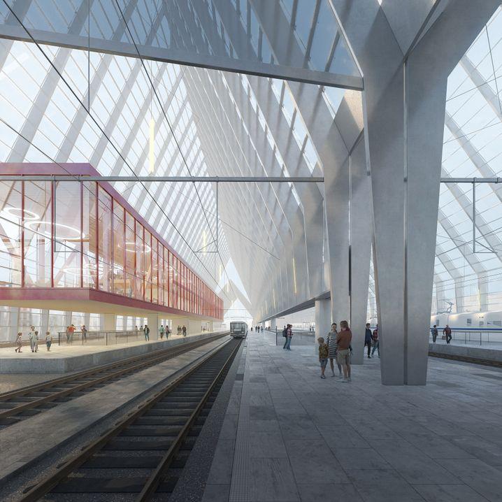 Entwurf von DBA Progetti: Gläserne Interpretation von Tallinns Giebelhäusern