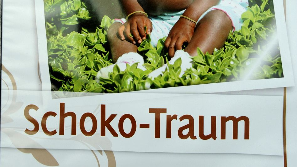 Werbung für Schoko-Backwerk: Ein Kind aus Namibia als Fotomotiv