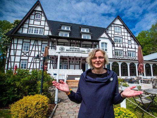 Nancy Engels, Geschäftsführerin des Hotels Hitthim