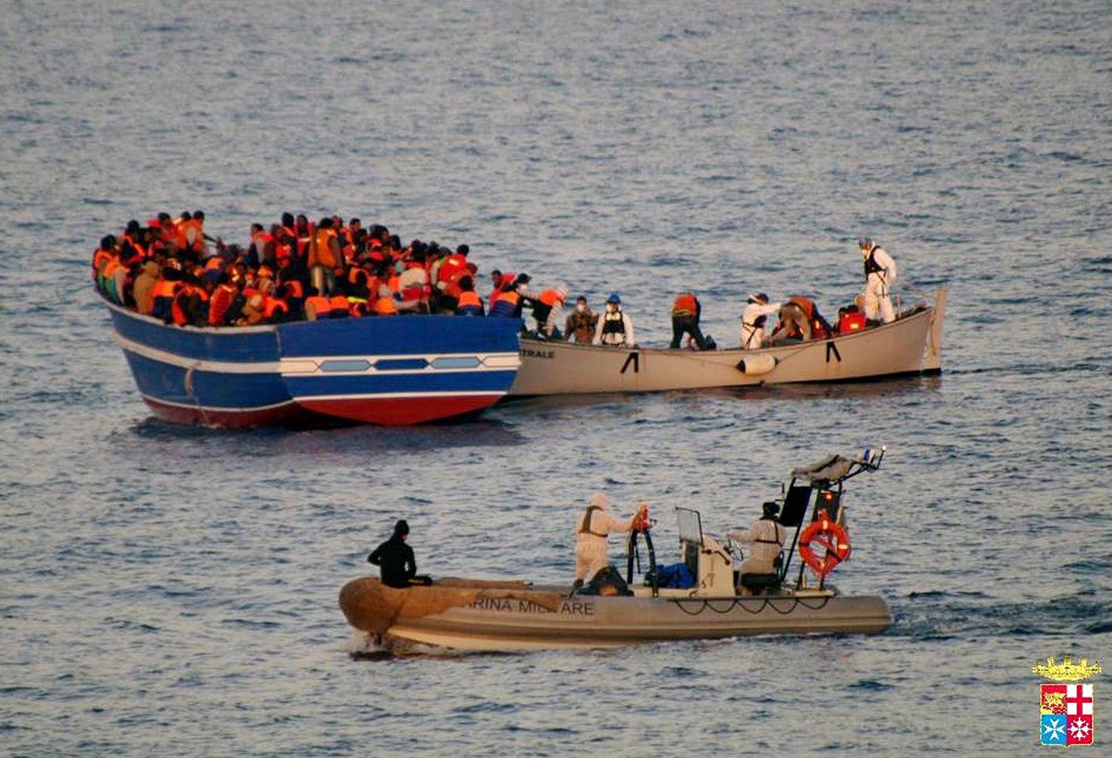 Flüchtlinge/ Mittelmeer/ EU