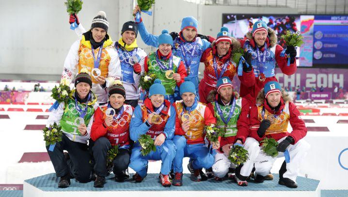 Olympische Winterspiele: Alle deutschen Medaillengewinner in Sotschi