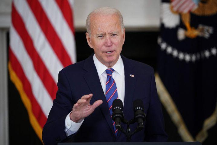 US-Präsident Joe Biden: In engem Austausch mit der ukrainischen Regierung