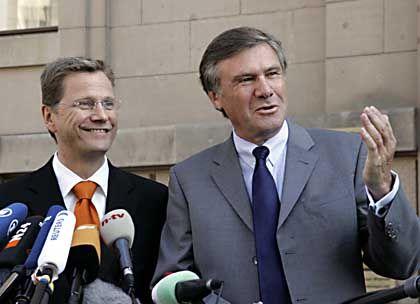 FDP-Politiker Westerwelle, Gerhardt: Von Musterküchen und Fertighäusern