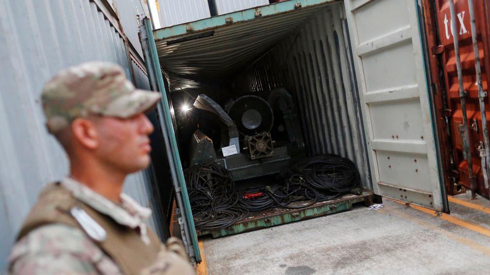 Verdächtiger Waffenfund: Kuba - Panama - Nordkorea