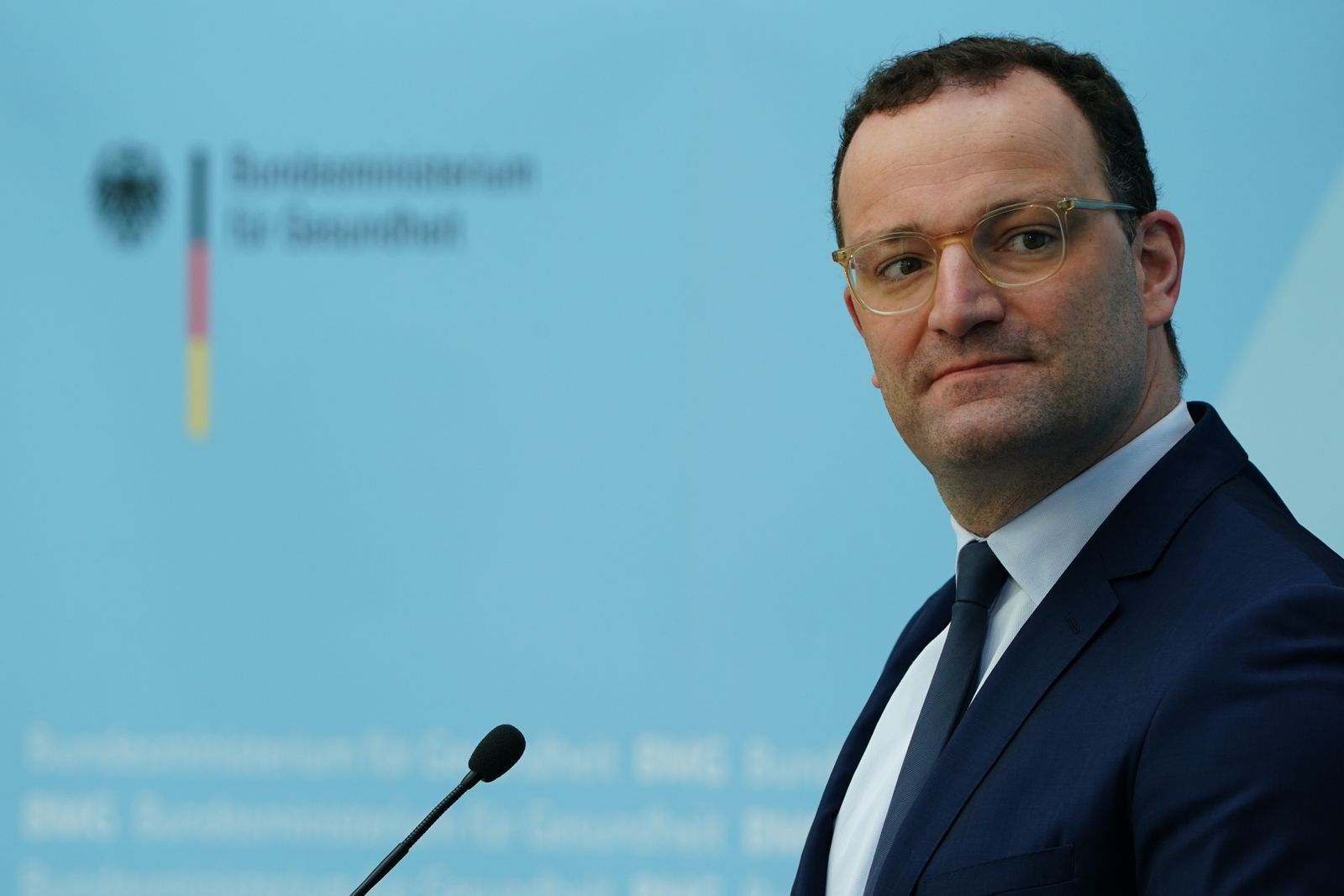 Press statement of German Health Minister Jens Spahn