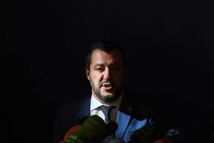 Lega-Chef Matteo Salvini