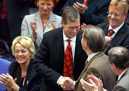 Glückwünsche für Robbe: Stimmen von der Opposition