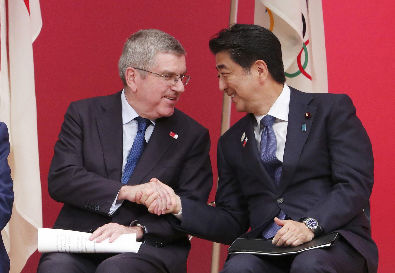 IOC hält an planmäßiger Olympia-Austragung fest