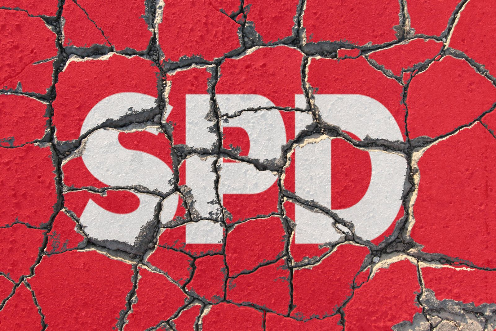 EINMALIGE VERWENDUNG SPD-Logo