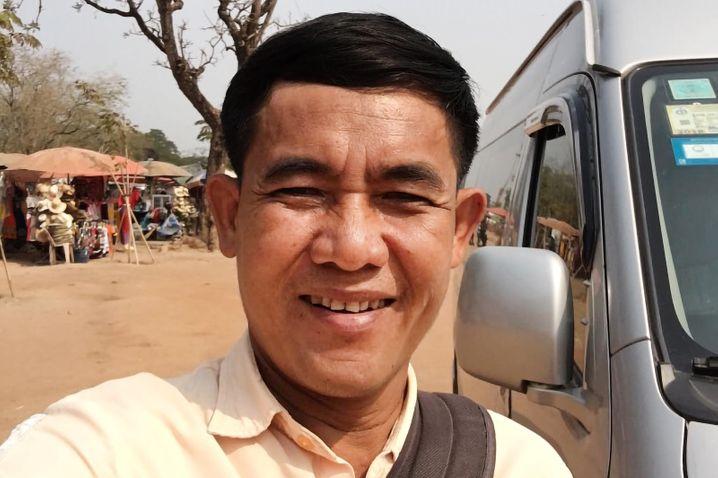 Reiseführer Sokhom Somrith in Siem Reap