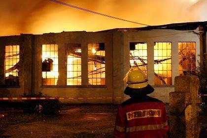 Feuer im Nürnberger Verkehrsmuseum: Etliche Lokomotiven sind völlig ausgebrannt