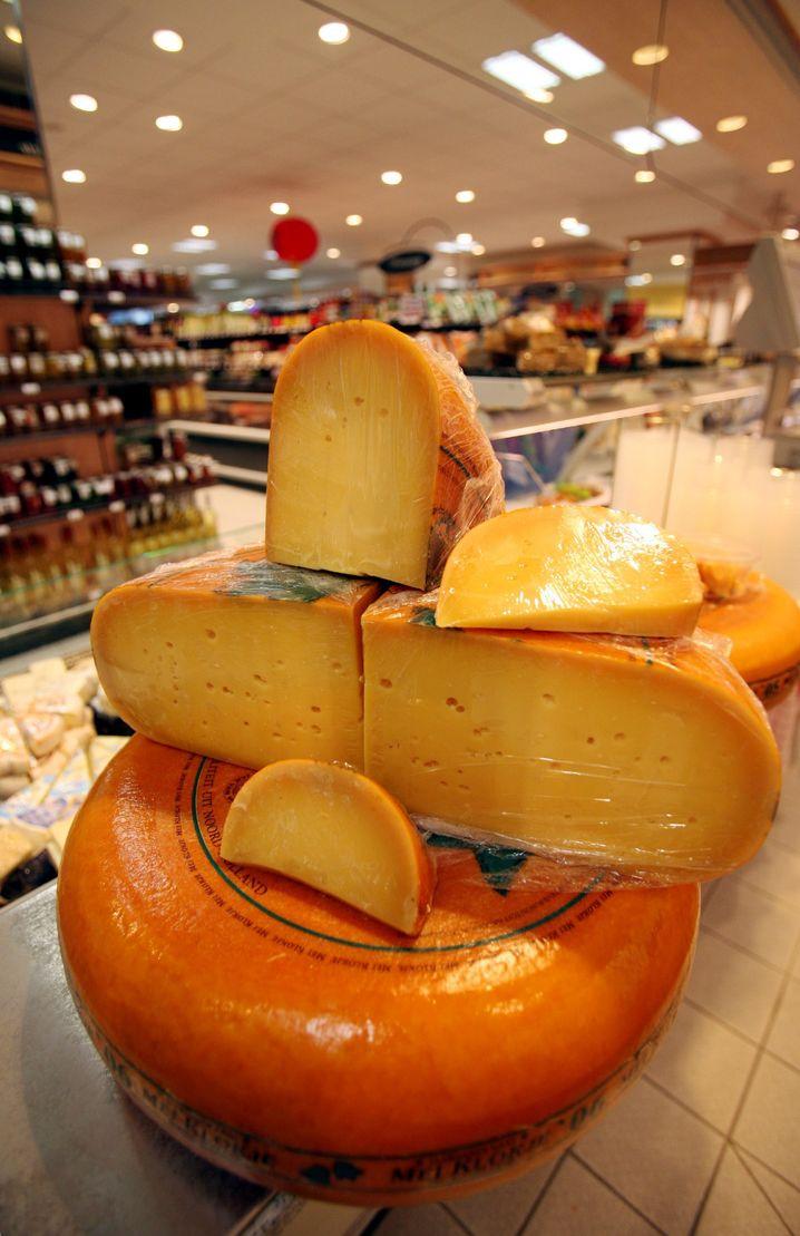 """Käse in einem Supermarkt: """"Totale Verbraucherveräppelung"""""""